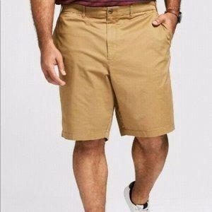 Goodfellow Linden Khaki Mens Big & Tall Shorts 54W
